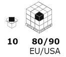 medida 10 80-90