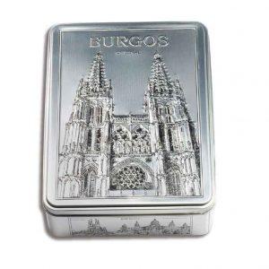 Estuche-metálico-400-g-Bombones-Surtidos-Catedral-Burgos-Fridul